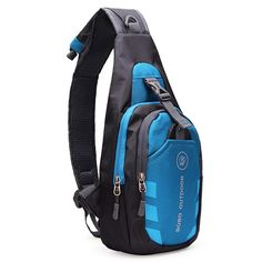 Unisex Nylon Chest Back Pack Crossbody Shoulder Bag Men Women Diagonal Package Rucksacks 2015 Hot - Bags Crossbody Shoulder Bag, Shoulder Handbags, Crossbody Bag, Shoulder Bags, Handbags For Men, Fashion Handbags, Shoulder Sling, Bag Packaging, Waist Pack