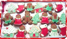 Loved making these sugar cookie cutouts for Xmas treats.  Super easy and so much fun!
