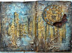 Freedom of Creativity - art journaling, #art by #ingridkristinav #ingridscraftscorner  more photos on the blog!
