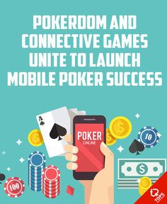 Pokerdom & Connective Games unite to launch mobile poker success.   --  #OnlineCasino #MobilePoker #Poker #News