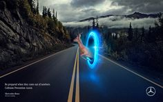 Mercedes Benz | Collision Prevention Assist on Behance