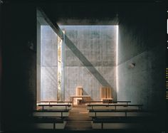 Church of light, Ibaraki, Tadao Ando - j g - Pineagle Sacred Architecture, Concrete Architecture, Church Architecture, Japanese Architecture, Light Architecture, Landscape Architecture, Sustainable Architecture, Ibaraki, Tadao Ando