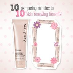 Did you have a crazy hectic week and your skin is now suffering for it? There's no fear when Mary Kay's Moisture Renewing Gel mask is near! All you need is 10-minutes and voila … watch your skin renew! Apply it on overnight for more intensive skin benefits.