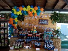 Moana y Maui candy bar #mesadelatorta #mesadedulces #mesadepostres #moanaymaui