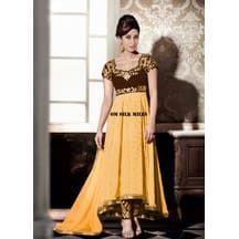5385a22d2 Om Silk Mills New Designer Kaarishma Ethinic Indian Wedding Bollywood  Traditional Anarkali Suit Salwar Kameez Bollywood