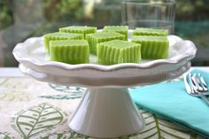 Pandan Jelly - pandan is one of my favorite flavors. Possibly because it contains the word panda.