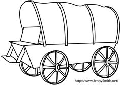mormon share pioneer tools wagon missionary packages primary rh pinterest com pioneer wagon clipart free pioneer covered wagon clipart