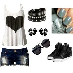 Summer Clothes, I love this so much i would wear thesee all the time!