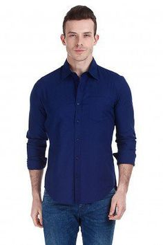 c06e8ee01 Blue Longsleeves Midnight Blue Long Sleeves Shirt Oxford Shirts