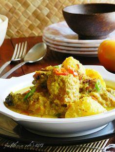 Singgahsana Kitchen: AYAM MASAK LEMAK CILI API (Tanpa Santan)