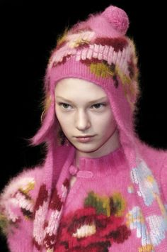 knitGrandeur: Re-embroidered Florals