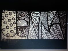 Zentangles - doodling with a purpose