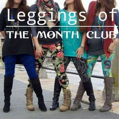 Join my group to become a Leggings of the month club member!   https://www.facebook.com/groups/LuLaRoeAnneMarie/