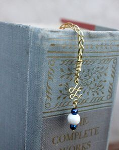Braided Wire Bookmark by StevenEdwardArtistry on Etsy