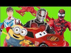 Max Steel Homem Formiga Ant Man Minions Relampago Lightning Mcqueen x Ca...