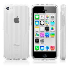 iskin Exo Ice Frost Case for iphone 5C WHITE $29.99