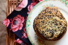 Black Sesame Cookies
