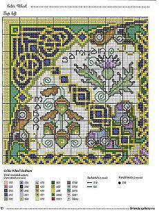 Celtic Pillow 2/7 | Cross Stitch: Celtic