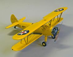 Revell US Navy Stearman Trainer | Unknown Scale