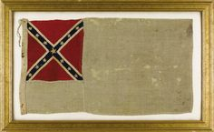 Mosby's Rangers flag.  Sold for approx. $78,000 at auction (2007).