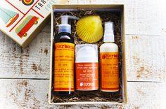 Natural Sunscreen, Travel Box, Travel Kits, Chemical Free Sunscreen, Summer Gift Baskets, Sun Care, Natural Cosmetics, Mineral Oil