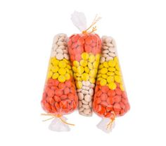 Candy Corn Cones | Let one of the holiday's signature candies inspire your DIYs this month.