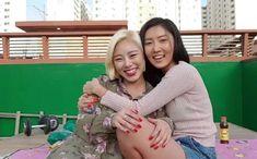 Wheein and Hwasa South Korean Girls, Korean Girl Groups, I Live Alone, No More Drama, Wheein Mamamoo, Eric Nam, I Love My Wife, Piano Man, Rude Boy