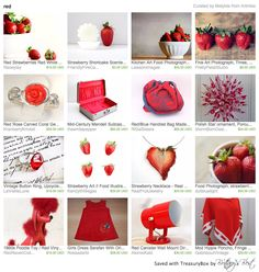 Our Red/Blue Handled Bag in this lovely treasury by Artmika <3 Thank you so much!!! https://www.etsy.com/treasury/MTcyMjY5NjR8MjcyNDg3OTY4MQ/red