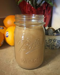 Mouthwatering, Easy, ~Vegan~ Chocolate Peanut-Butter Protein Shake!  Perfect shake for after a workout, a wholesome breakfast, or just a healthy treat!  12oz black iced coffee, 3 scoops vegan chocolate protein powder (I use Orgain Chocolate Fudge), 1-2 scoops creamy peanut butter, & a handful of ice cubes, or at least 6oz of cold water  Blend together with your blender of choosing!  Enjoy!