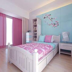 Amazing 50 Ideas for Teenage Girls Bedroom Design http://toparchitecture.net/2017/12/27/50-ideas-teenage-girls-bedroom-design/