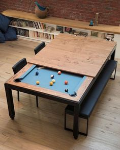 Pool/Dining Table | Diy pool table, Pool table dining table and Diy pool