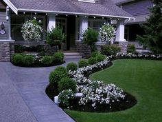 3 Sharing Cool Tips: Garden Landscaping Edging Pathways garden landscaping decking courtyards.Easy Garden Landscaping Design front garden landscaping how to build.Garden Landscaping Plans How To Build. Diy Garden Projects, Diy Garden Decor, Garden Ideas, Garden Decorations, Garden Tips, Garden Inspiration, Evergreen Landscape, Front Yard Design, Front Yard Landscape Design