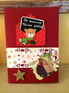 postal de Navidad personalizada. Postal personalized christmas