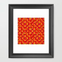Design your everyday with framed-prints you'll love. Choose from an array of frame options and art from independent artists across the world. Framed Art Prints, Triangles, Artist, Design, Decor, Decoration, Decorating, Artists, Triangle Shape