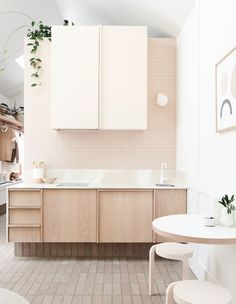 A Tonal, Tiny North Melbourne Cottage