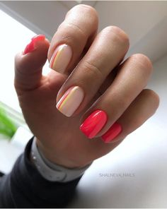 Semi-permanent varnish, false nails, patches: which manicure to choose? - My Nails Cute Acrylic Nails, Cute Nails, Pretty Nails, Perfect Nails, Gorgeous Nails, Pink Nails, My Nails, Star Nails, Stylish Nails