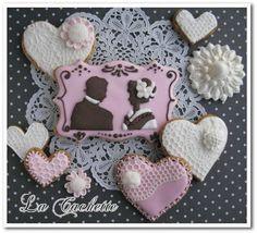 黄金の国ジパングのバレンタインアイシングクッキー の画像|世界に一つだけのアイシングクッキー*La Cachette*ラ・カシェット