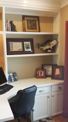 Richly Blessed: Our Home Office   Before And After!