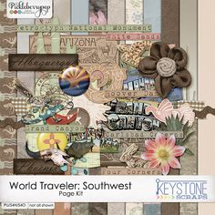 World Traveler: Southwest by Keystone Scraps