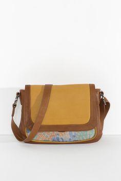9468eb38f8 SS15 George Bag - Pumpkin - Nancybird Printed Linen