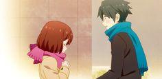 Animated gif about gif in Tsurezure Children by Shinya Tsurezure Children, Tsundere, Vocaloid, Animated Gif, Anime Art, Gifs, Romance, Animation, Manga