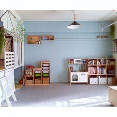 takaさんの、ベッド周り,無印良品,IKEA,植物,子供部屋,ウォールステッカー,DIY,unico,流木,生活感,セルフペイント,押入れ改造,和室を改造,グリーンのある暮らし,こどもと暮らす。,のお部屋写真