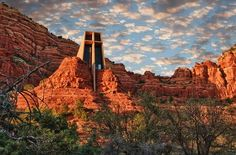 Sedona, Arizona - Beautiful Church in the Red Rocks....a place to be in praise