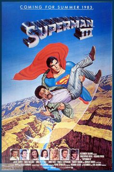 Supergirl? Superman III e Superman IV – Filmes Review