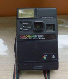 Kodak-Colorburst-250-Instant-Camera-Vintage