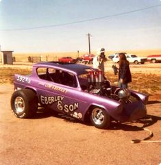 Vintage shots from days gone by! Ford Anglia, Nhra Drag Racing, Classic Hot Rod, Custom Cars, Custom Stuff, Ford Classic Cars, Vintage Race Car, Drag Cars, Car Humor