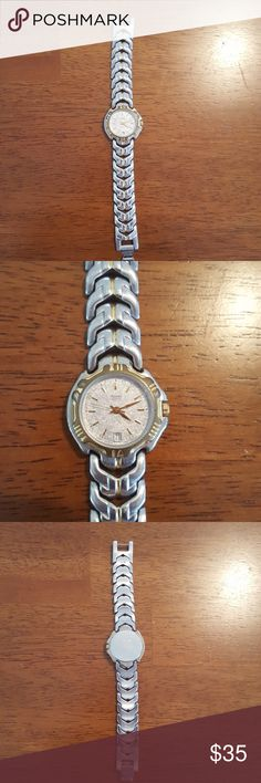 Woman's Pulsar bracelet watch Normal signs of wear to this beauty but still have lots of life left.  Just needs a battery and new wrist!  Smoke free home.   Please feel free to make reasonable offers Pulsar Accessories Watches
