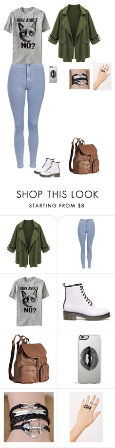Untitled #43 by sing-into-life on Polyvore featuring Topshop, H&M, NOVA and Lipsy