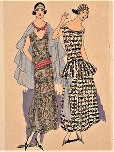 Moda Vintage, Vintage Models, Model Pictures, Art Deco, Summer Dresses, Plate, Fun, Design, Fashion