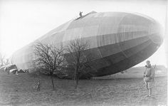Airship wrecked sometime in WW1 somewhere on the Hungaro-Austrian side. 1 January 1915 www.airshipcenter.com
